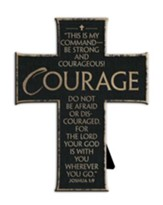 Be Strong and Courageous Cross