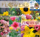 2014 Flowers Calendar Value Pack