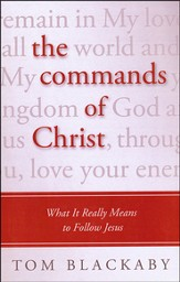 The Commands of Christ: What It Really Means to Follow Jesus, Large Print