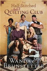 The Half-Stitched Amish Quilting Club, Large Print