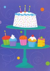 Brightest Wishes Birthday Cards, Box of 12