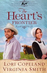 The Heart's Frontier, The Amish of Apple Grove Series #1 Large Print