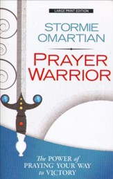 Prayer Warrior, Large Print