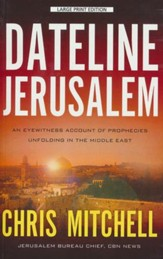 Dateline Jerusalem, Large Print