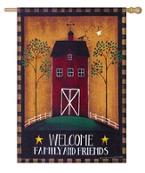 Welcome, Barn Flag, Large