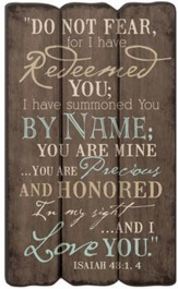 I Have Redeemed You Wall Art