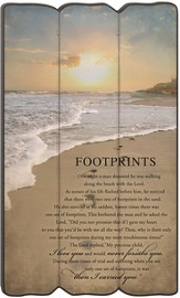 Footprints Wall Art