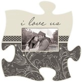 I Love Us, Puzzle Piece Photo Frame