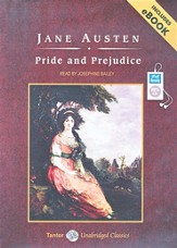 Pride and Prejudice Unabridged Audiobook on MP3-CD