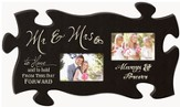Mr. and Mrs., Puzzle Photo Frame