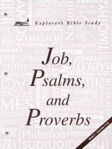 Job, Psalms, and Proverbs--Book 1 (Lessons 1-10)