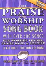 The Original Praise & Worship Songbook CD-Rom