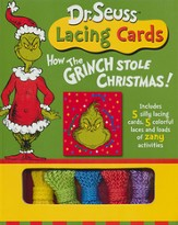 Dr. Seuss How The Grinch- Lacing Cards