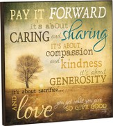 Pay It Forward Wall Art