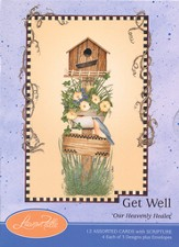 Our Heavenly Healer Get Well Cards, Box of 12
