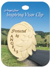 Protected By Angels, Visor Clip