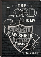 The Lord Is My Shield, Mini Chalkboard Art
