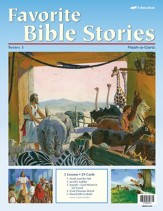 Favorite Bible Stories 1 Flash-a-Card Set