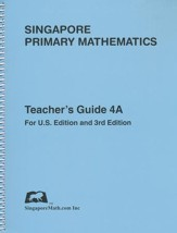 Singapore Math Primary Math Teacher's Guide 4A