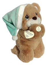 Precious Moments, Prayer Bear Plush, Spanish