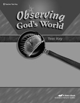 Observing God's World Tests Key