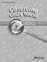 Observing God's World Quizzes & Worksheets