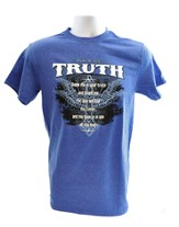 Truth Shirt, Blue, Small