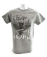 Hope Wings Shirt, Gray, Small