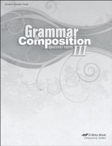 Grammar & Composition III Quizzes & Tests