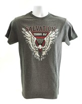 Salvation Shirt, Charcoal, Small