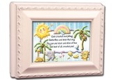 God Created Everything Baby Keepsake Box