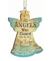 His Angels Will Guard You, Car Charm