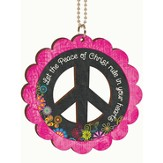 Let the Peace Of Christ, Car Charm