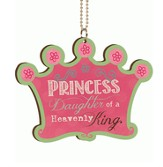 Princess, Daughter of the King, Car Charm