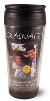 Graduate Photo Mug Travel Tumbler