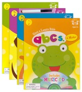 Sing and Learn Bible Pack of 4