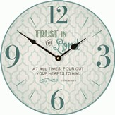Trust In the Lord Clock