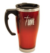 No Greater Love, Stainless Steel Travel Mug