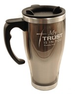 Stainless Steel Mug w/ Handle