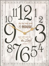 As For Me and My House Clock