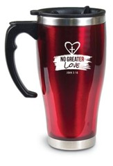 No Greater Love Travel Mug, John 3:16