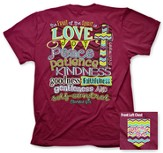 Fruit Of the Spirit Shirt, Berry, Medium