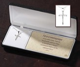 First Communion, Nail Cross Necklace