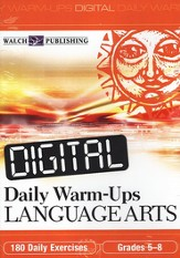 Digital Daily Warm-Ups, Language Arts, Grades 5-8
