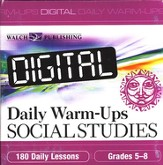 Digital Daily Warm-Ups, Social Studies, Grades 5-8