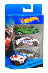 Hot Wheels Exotics, 3 Pack
