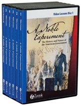 A Noble Experiment: The History and Nature of the American Government DVDs & Teacher Resource CD-Rom - Slightly Imperfect