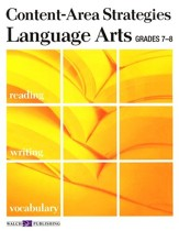 Language Arts Grades 7-8, Student Text