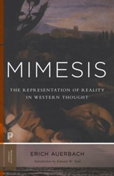 Mimesis: The Representation of Reality in Western Literature (New in Paperback)