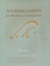 Kierkegaard's Journals and Notebooks: Volume 7, Journals NB15-NB20
